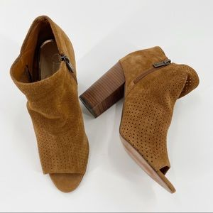 Jessica Simpson Kymber Leather Bootie Size 8.5